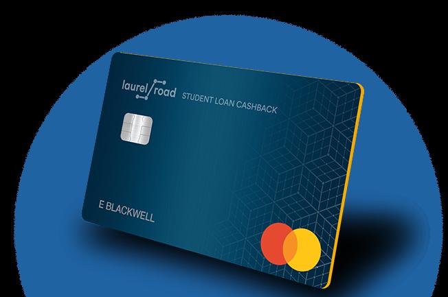 laurel road student loan cashback credit card